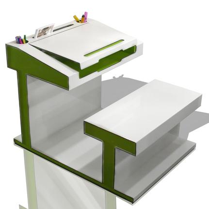 Craftbymac Mobilier Enfant Bureau Secretaire Bébé Design